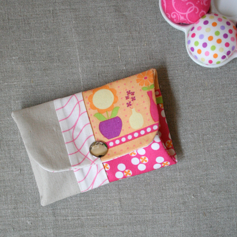 Snappy Coin Pouch from I Heart Linen