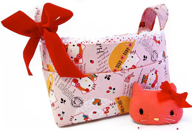 Hello Kitty Sewing Basket by Sew For Home