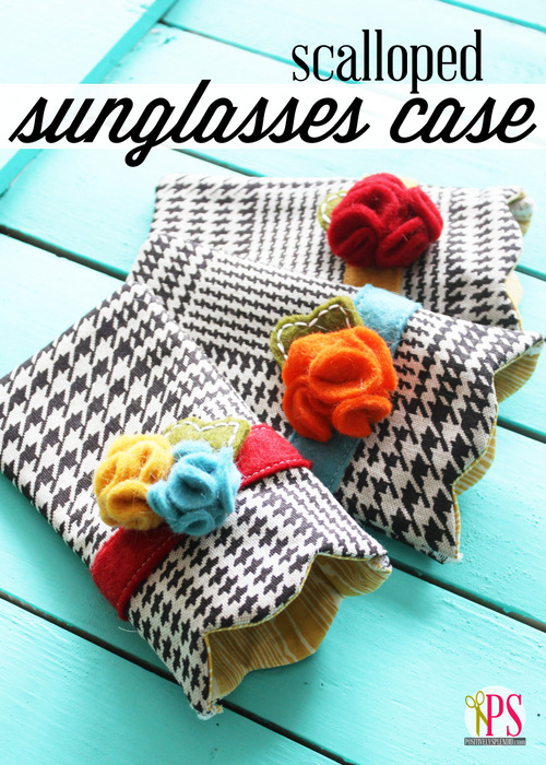 Scalloped Sunglasses Case by Positively Splendid