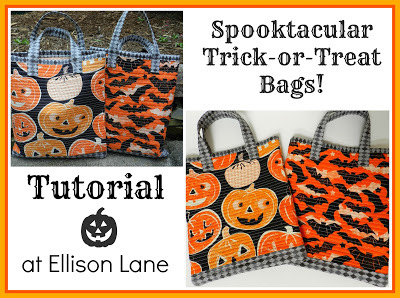 Spooktacular Trick or Treat Bag by Allison Lane