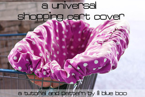 A Universal Shopping Cart Cover by Lil Blue Boo