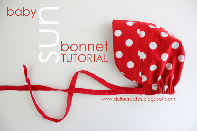 Baby Sun Bonnet by Delia Creates