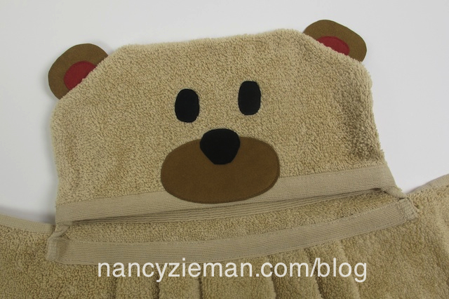 Teddy Bear Towel Wrap by Nancy Zieman