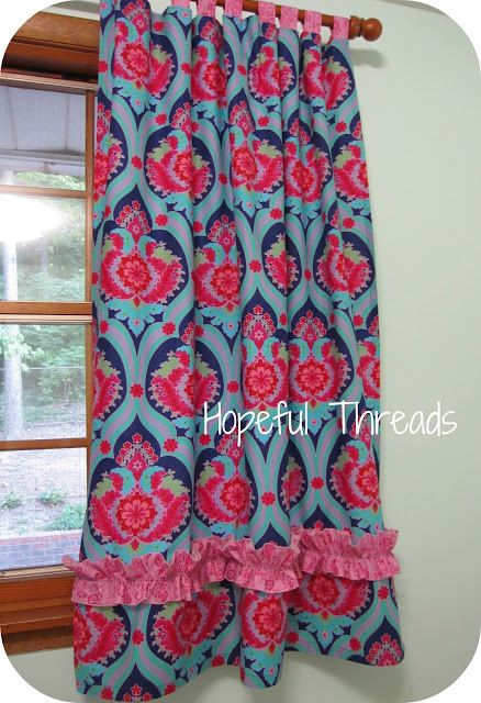 Crazy Love Curtains by Hopeful Threads