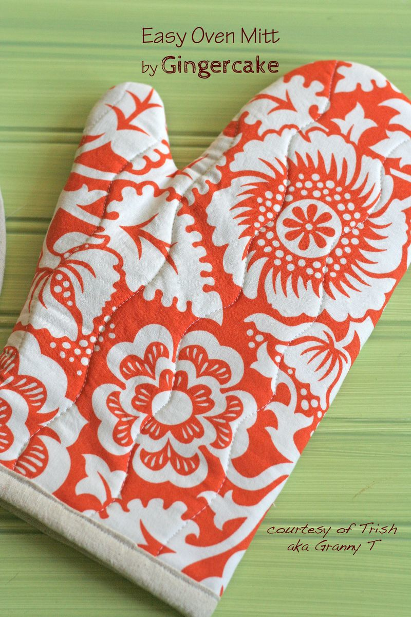 Easy Oven Mitt by Gingercake