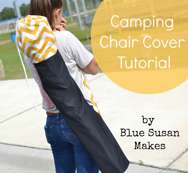 Camping Chair Cover by Blue Susan Makes