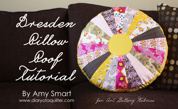 Dresden Pillow Poof by Amy Smart