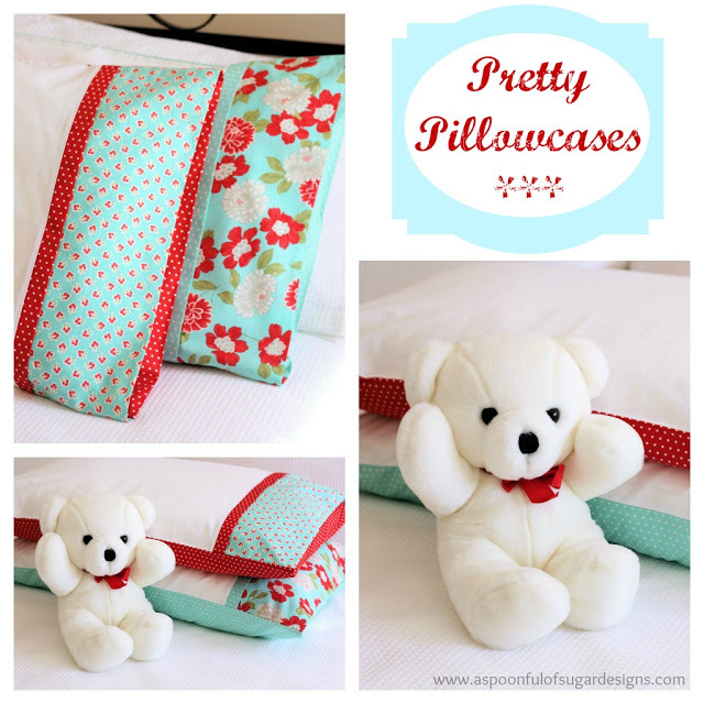Pretty Pillowcases by A Spoon Full of Sugar