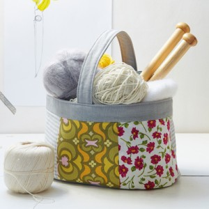 Knitting Basket from Ideas Mag