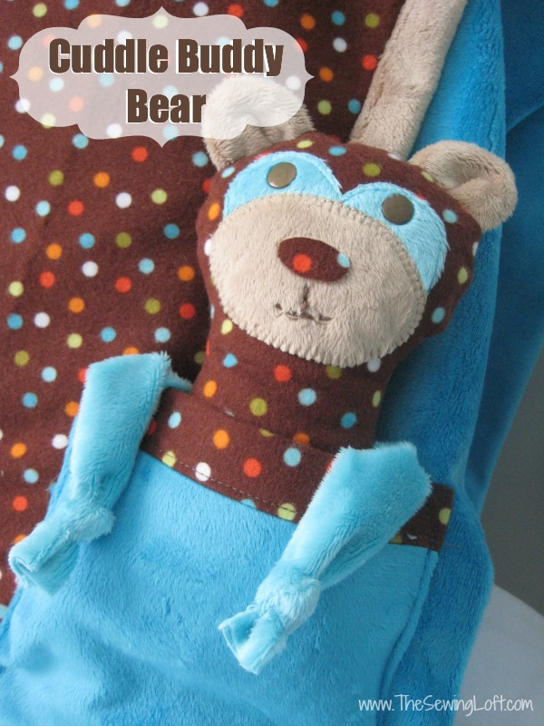 The Cuddle Buddy Bear from The Sewing Loft