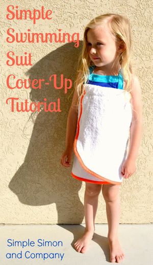 Simple Swimming Suit Cover Up Tutorial from Simple Simon and Company