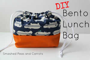 Bento Lunch Bag Tutorial from Smashed Peas and Carrots