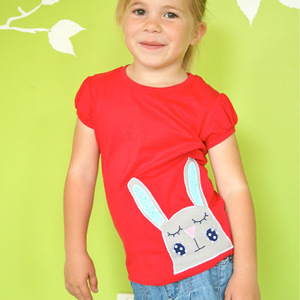 Sleepy Bunny Applique from Make it Perfect