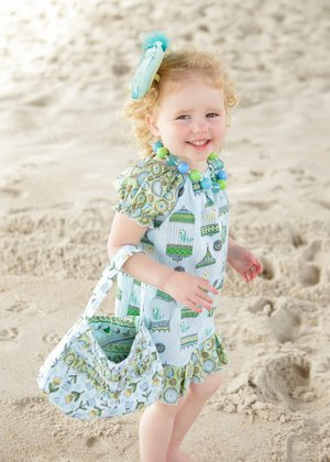 Free Peasant Dress and Little Purse Patterns from Create Kids Couture