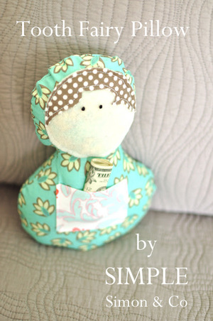 Tooth Fairy Pillow by Simple Simon & Co