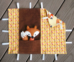 Fox Blankie and Plushie Playset by Abby Glassenberg