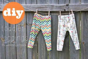 Toddler Leggings free tutorial from the Winthrop Chronicles