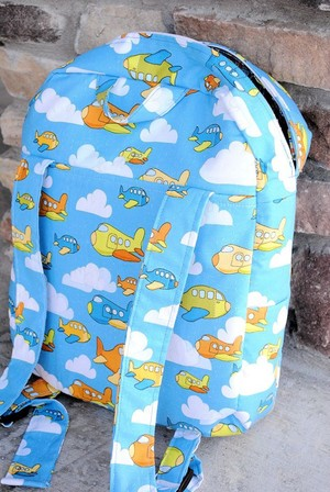 Toddler Backpack Pattern from Crazy Little Projects