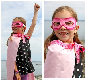 Quick and Easy Superhero Costume from Dabbles and Babbles