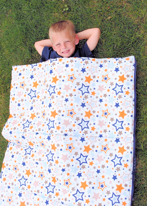 Kids sleeping bag tutorial from Crazy Little Projects