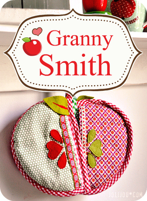 Granny Smith Apple Pot Holders free pattern
