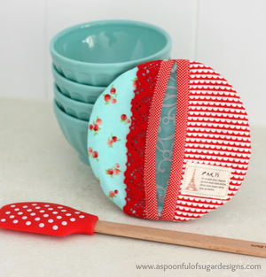 Round Pretty Potholder from Spoonful of Sugar Designs