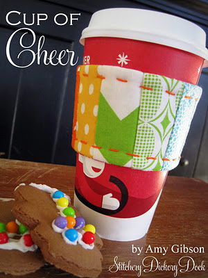 cup of cheer cup cozyby Stichery Dickory Dock