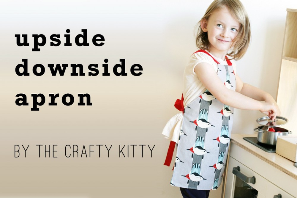 upside downside apron by the crafty kitty