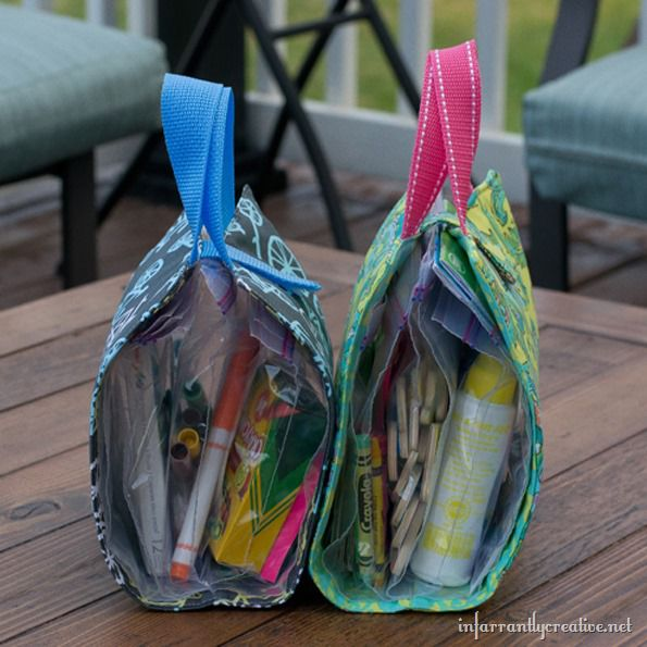 Busy Bags from Infarrantly Creative