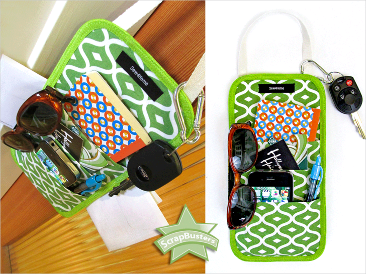 Doorknob Reminder Caddy from Sew4Home