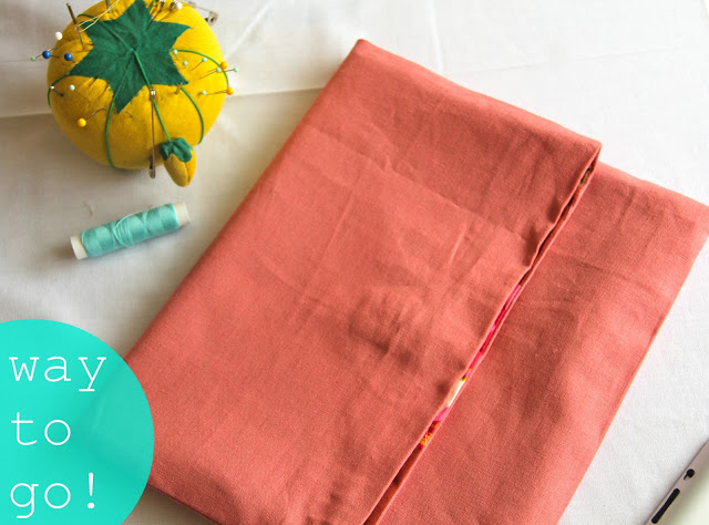 oversized fold-over clutch tutorial from Oh Sweet Joy