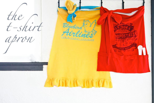 The T-Shirt Apron from Ruffles and Stuff