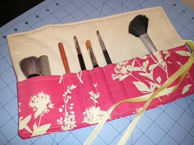 Make-up brush Roll from LBG Studio