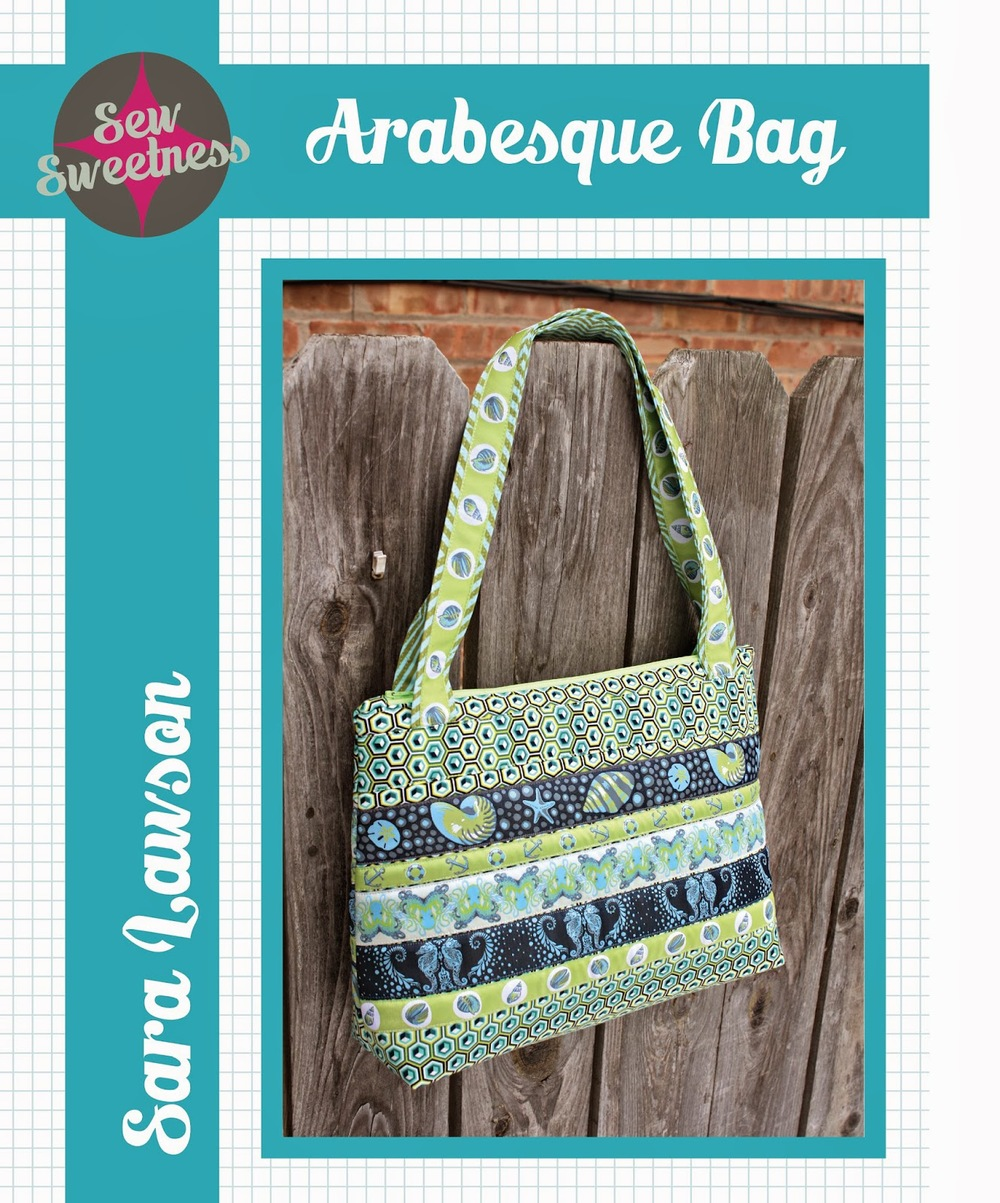 The Arabesque Bag from Sew Sweetness