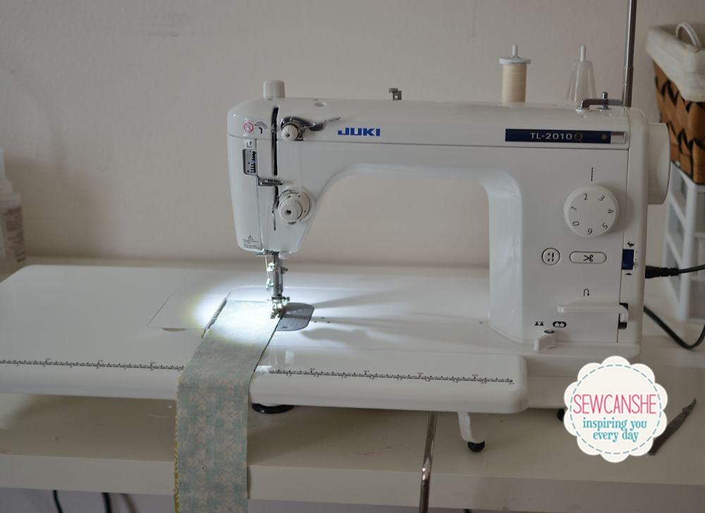 Show Off Saturday: My new Juki TL-2010Q — SewCanShe | Free Sewing ... : juki quilting sewing machine - Adamdwight.com