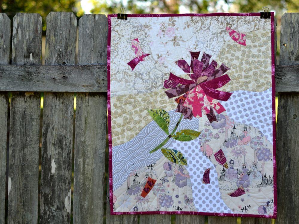 Firecracker Flower Applique Design From The Sewcanshe
