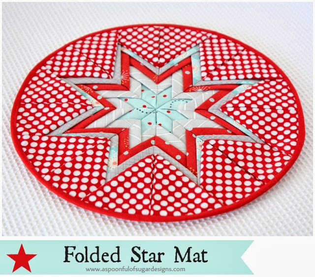 Folded Star Mat from Spoon Full of Sugar