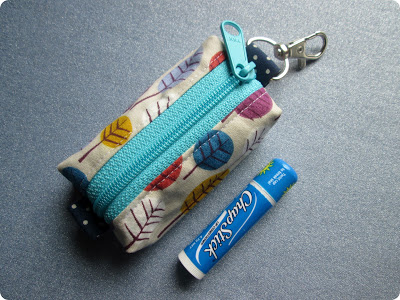 Keyring Pouch from Monkey Makes Three