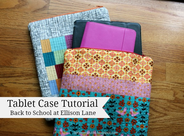 Tablet Case Tutorial from Ellison Lane