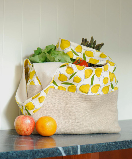 Market Tote from The Long Thread