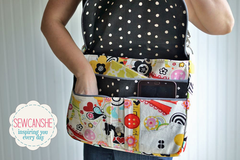 Free Book Cover Sewing Patterns ~ Pattern review the working girl laptop bag from