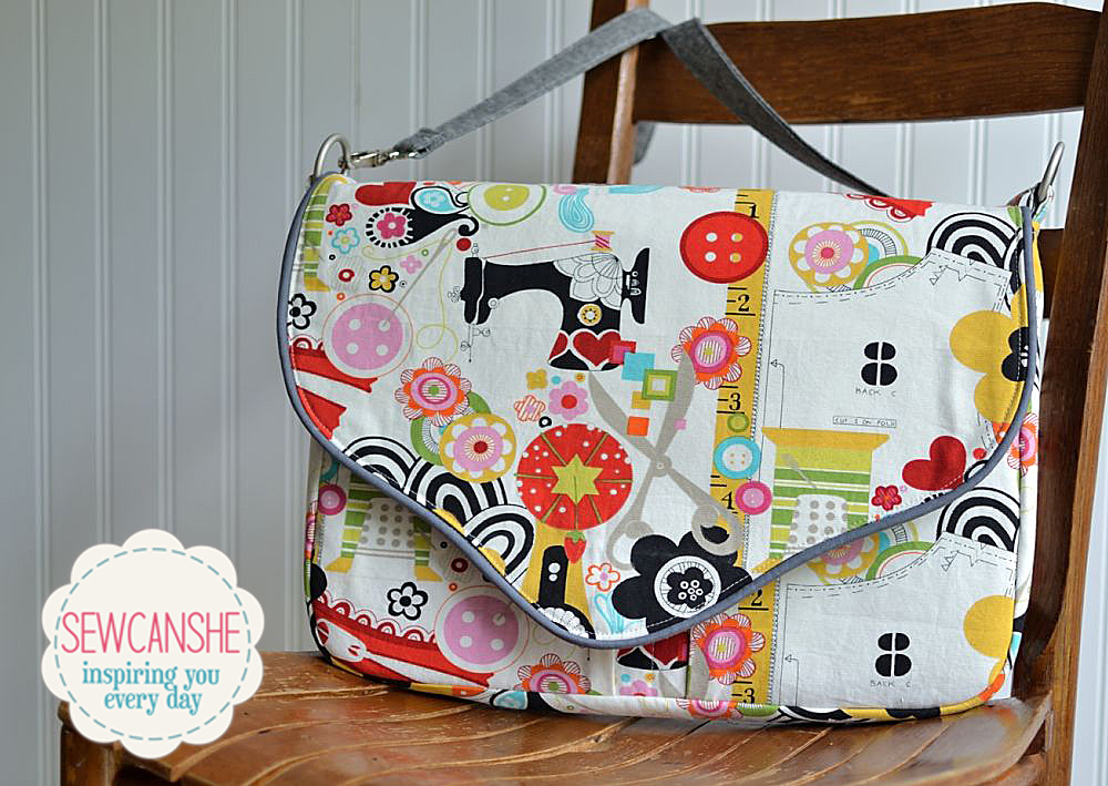 Pattern Review The Working Girl Laptop Bag From