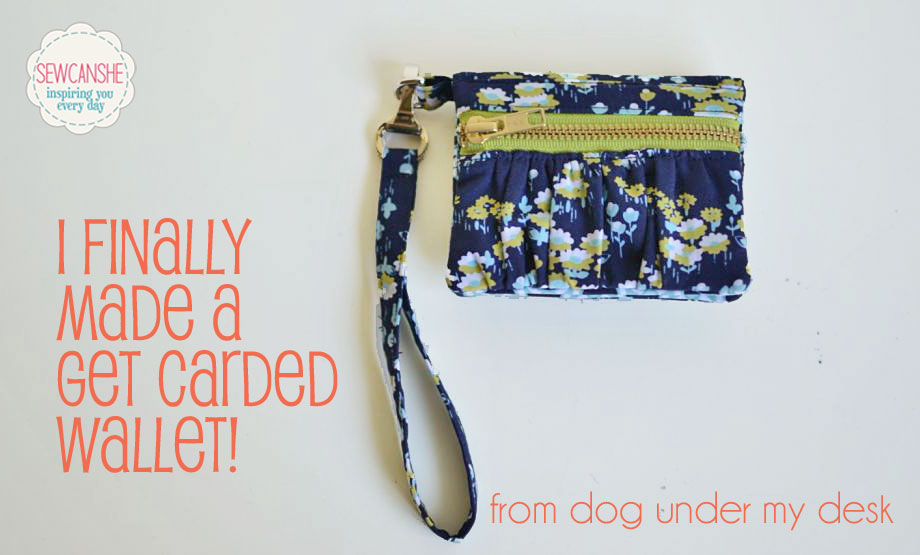 Pattern Review: I finally made a Get Carded wallet! — SewCanShe ...