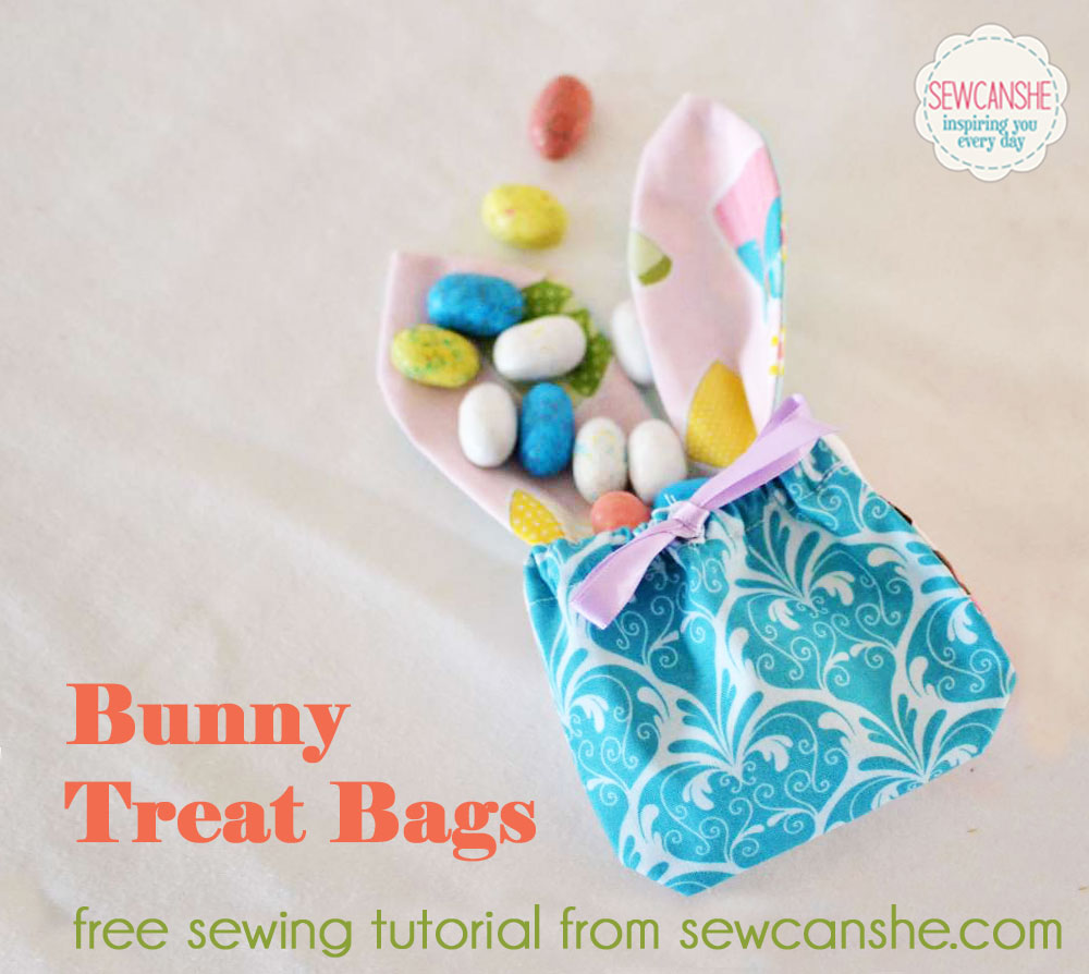 Bunny Treat Bags by SewCanShe