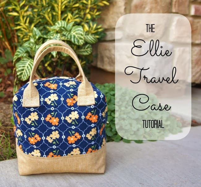 Ellie Travel Case Tutorial from Fabric Mutt