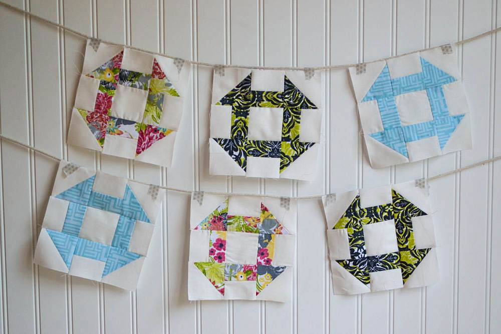Classic Blocks: Fresh Fabrics... The Churn Dash! — SewCanShe ... : churn dash quilt block - Adamdwight.com