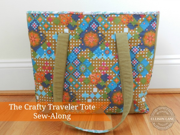 The Crafty Traveler Tote from Ellison Lane