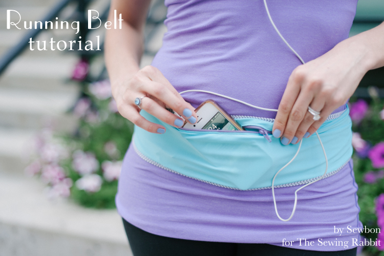 Running Belt DIY Tutorial from Me Sew Crazy