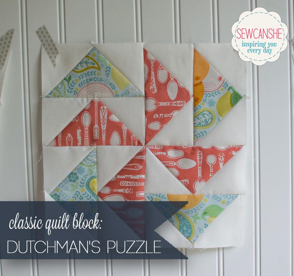 Classic Blocks: Fresh Fabrics for May... the Dutchman's Puzzle ... : flying dutchman quilt pattern - Adamdwight.com
