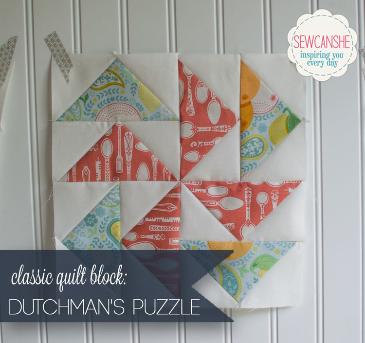 Classic Blocks Fresh Fabrics For May The Dutchmans Puzzle